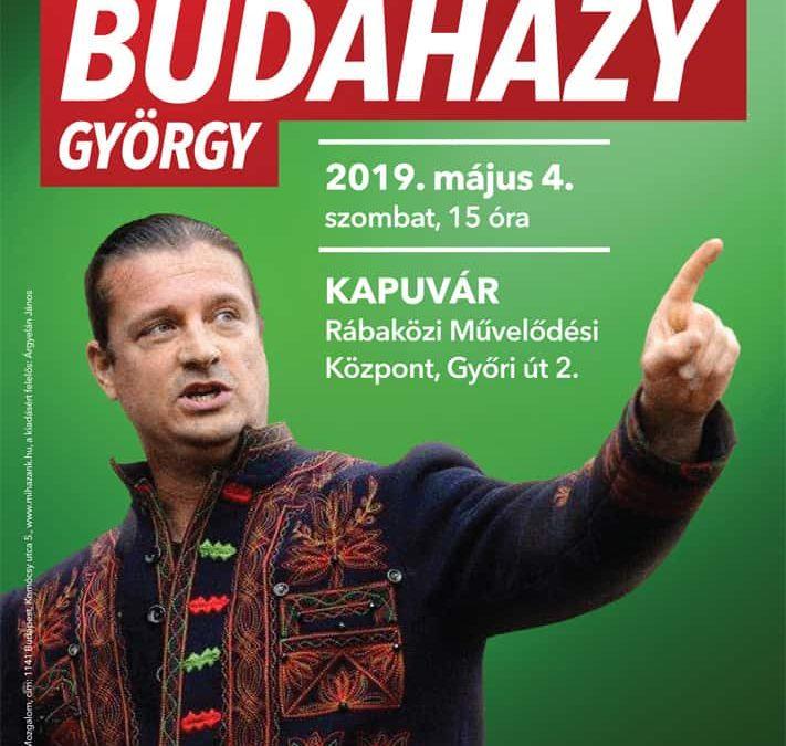 Budaházy György előadást tart Kapuváron