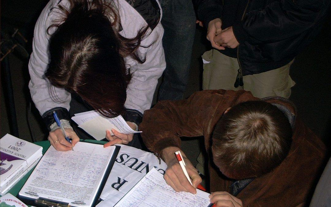 Felhívás aláírásgyűjtésre Trianon ellen